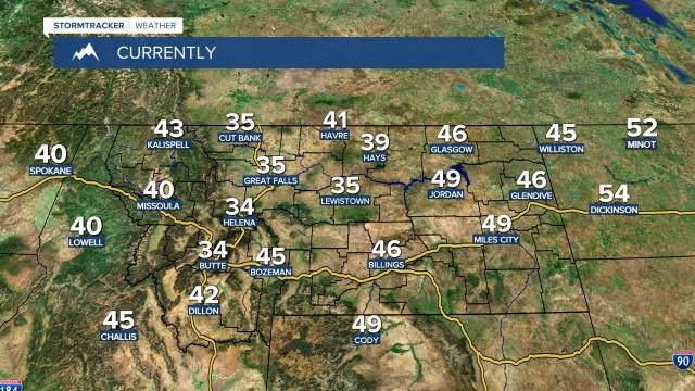 Montana Temperatures