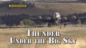"""""""Thunder Under the Big Sky"""" is about the history of the military in the skies above and below the earth of North Central Montana."""