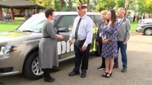 New vehicle presented to DAV