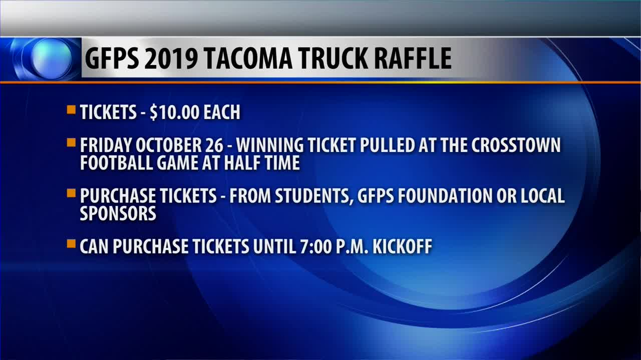 Community Connection: GFPS Truck Raffle