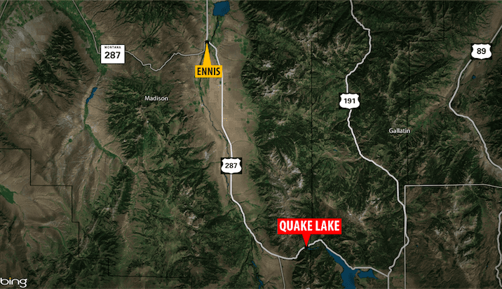 One lane reopens after avalanche closes Highway 287 near